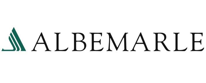Analyse du cours de l'action Albemarle