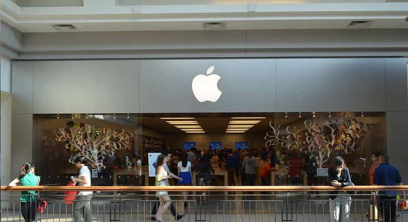 Apple stabilisce un record di performance per l'indice Dow Jones U.S