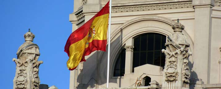 Cotation de la Bourse espagnole de Madrid