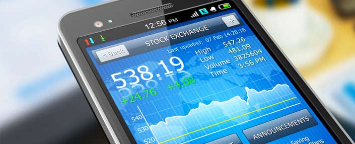 Applications mobile pour le trading d'options binaires