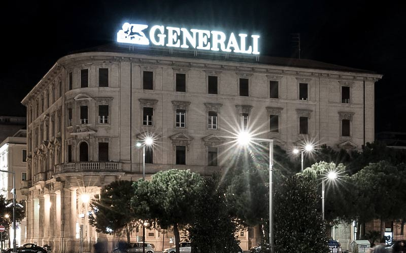Fitch Ratings declassa il rating di Generali