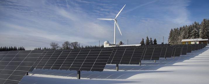 Renewable energy sector stocks
