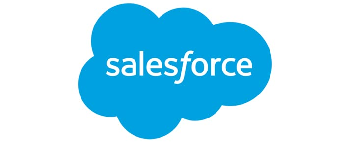 Trader l'action Salesforce
