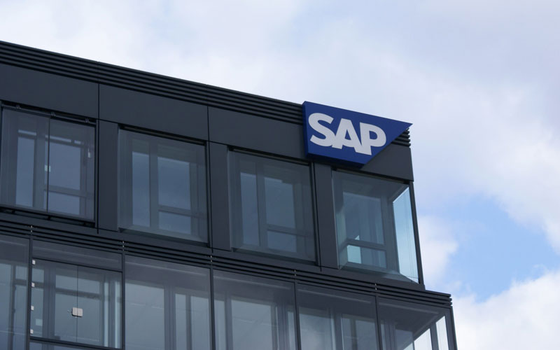 SAP shares fell 20% on Monday on the stock market