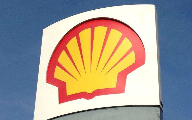 Caída de beneficios para Shell, el precio de las acciones bajó
