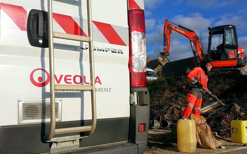 Acquisizione di un sito per il trattamento dei rifiuti da parte di Veolia